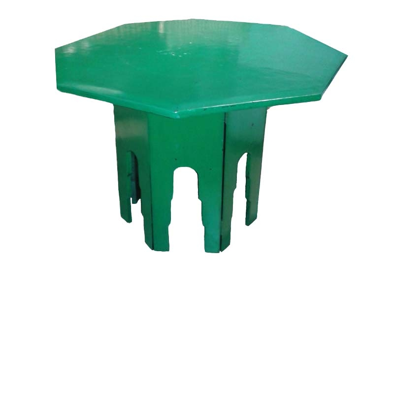 Lacquered Green Octagonal Table