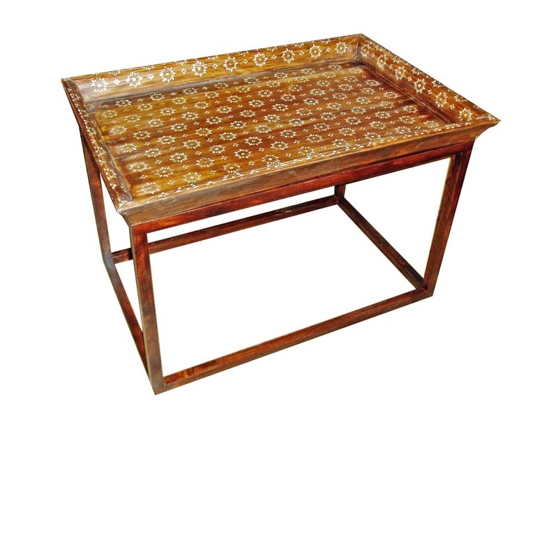 Inlaid Tray Coffee Table