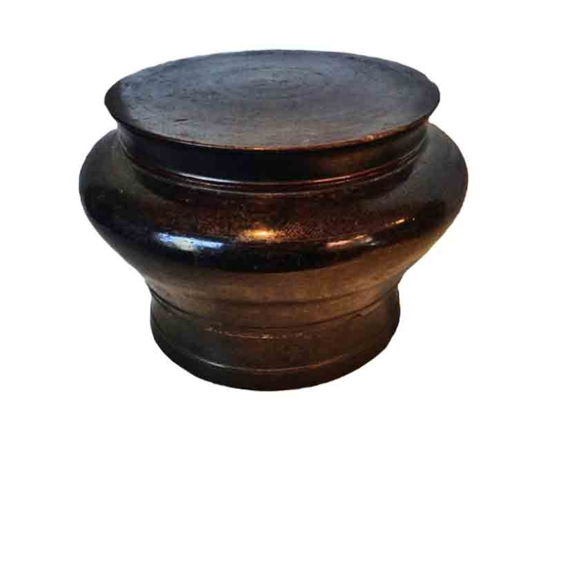 Dayak Container with Lid