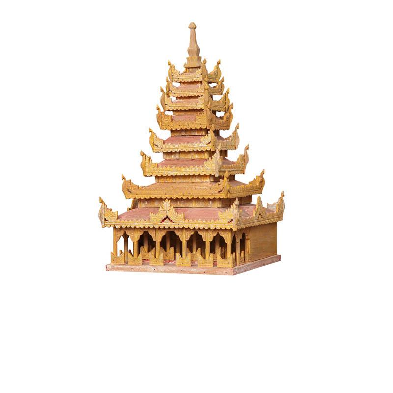 Thai Temple Model