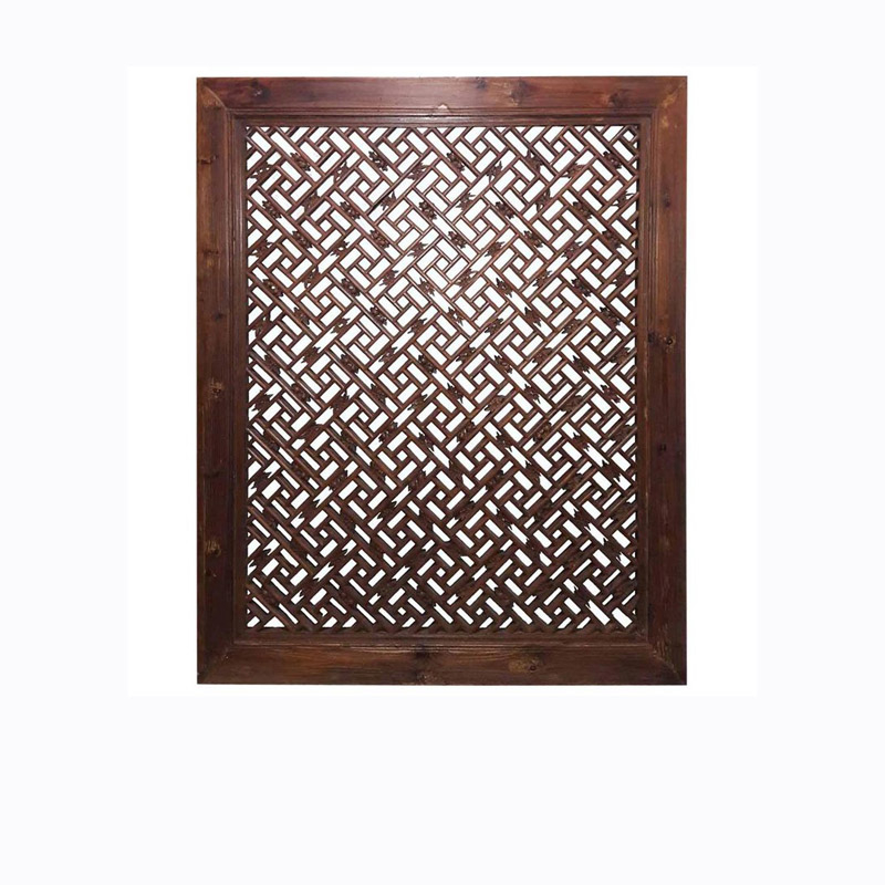 Wood Window Screen, Early 19th Century