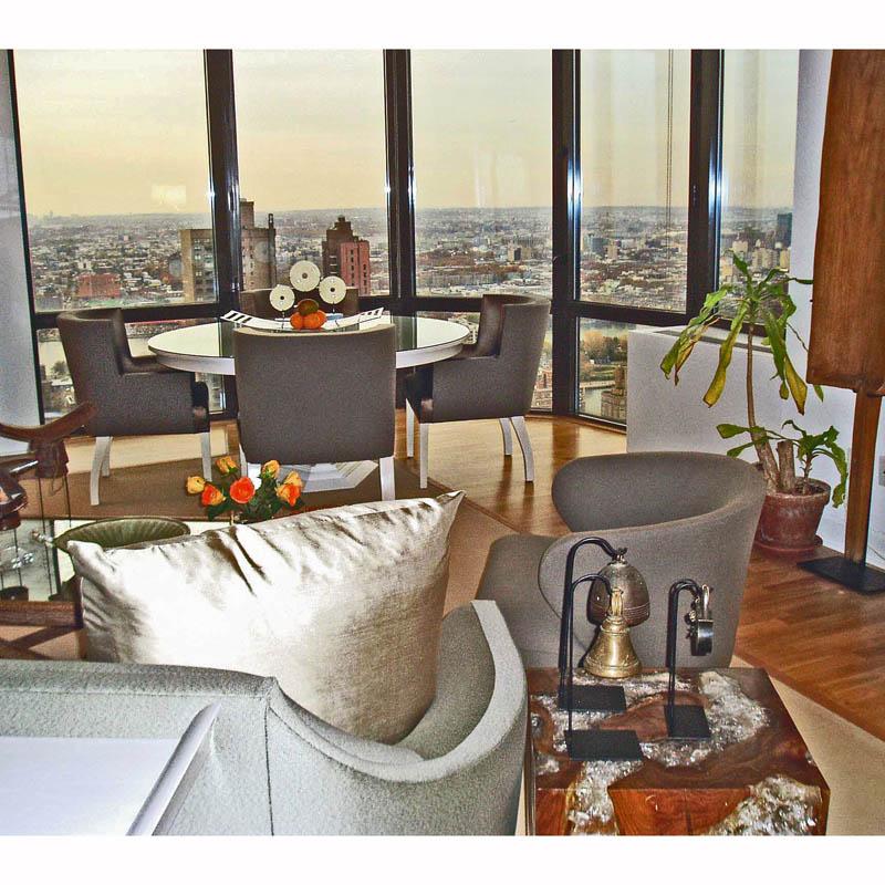 East Side NY Apt - Living -Dining Room