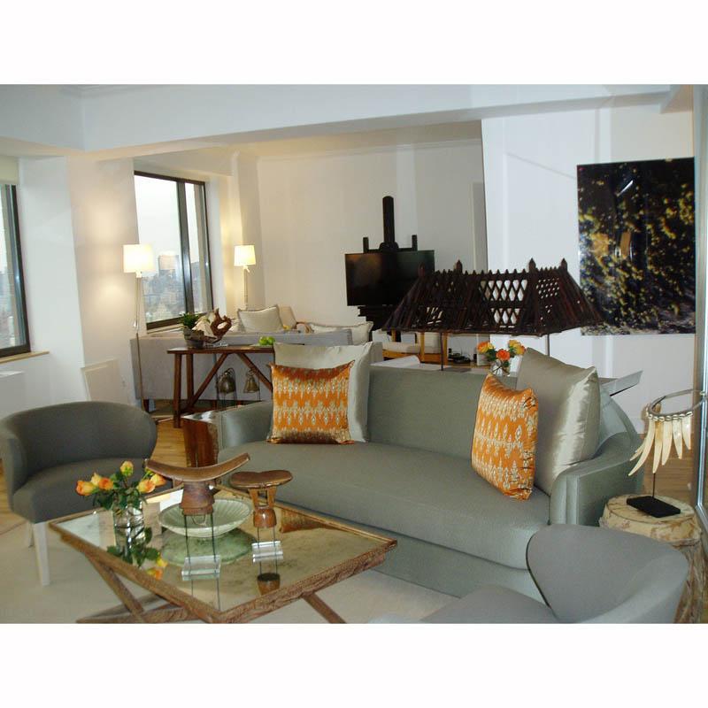 East Side NY Apt, Living Room