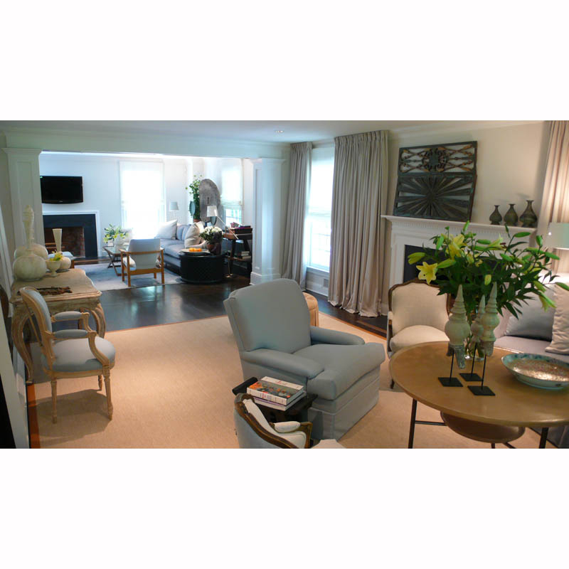Connecticut Residence - Living Room / Den