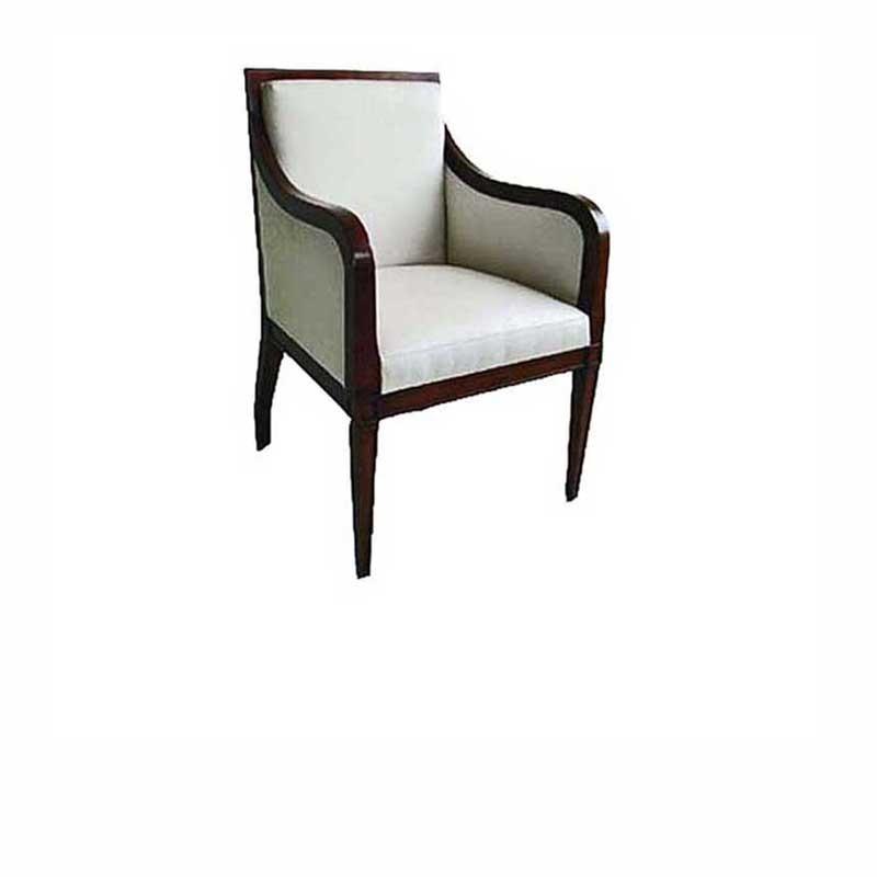 Mark Closed Armchair