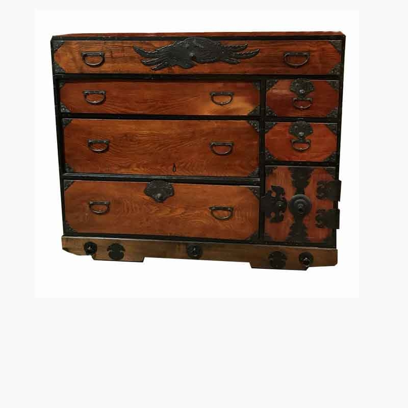 Japanese Tansu Chest, Mid 18th Century